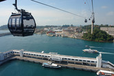 New cable car to Singapore's Sentosa wonderland