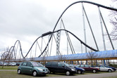 Silver Star roller coaster: one of the world's best!