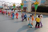 Korean school kids