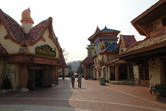 Charming little fairy tale village