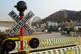 A scenic theme park
