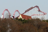 Much older and less legendary coaster sitting on another hill