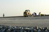 Work has commenced on the Saadiyat Freeway