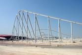 Ferrari World Abu Dhabi under construction