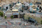 Middle Eastern War Game village from above
