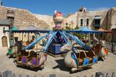 Peaceful camel carousel