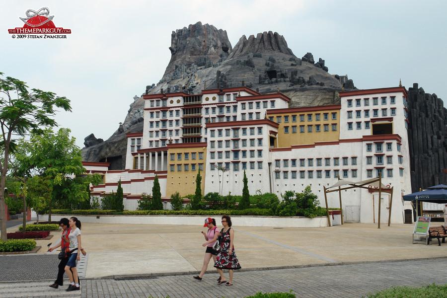 Tibet setting