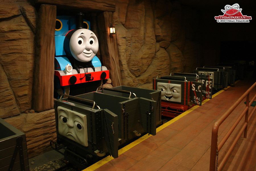 Thomas the Tank Engine dark ride