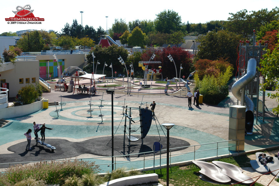 Futuroscope playground