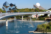 Futuroscope was quite empty when I visited