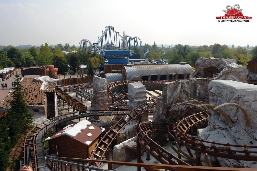 Gardaland coaster view