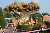 This fantasy tree is probably Gardaland's most outstanding landmark