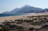Deserted beach near Sadah