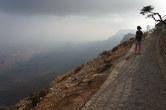 Jabal Samhan viewpoint. Don't stumble!