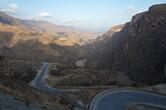 Up the mountains past Mughsail beach
