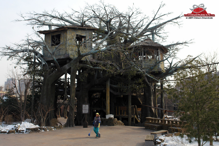 Happy Valley Beijing tree house