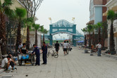 Happy Valley Sheshan Main Street under construction