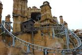 Wild West roller coaster