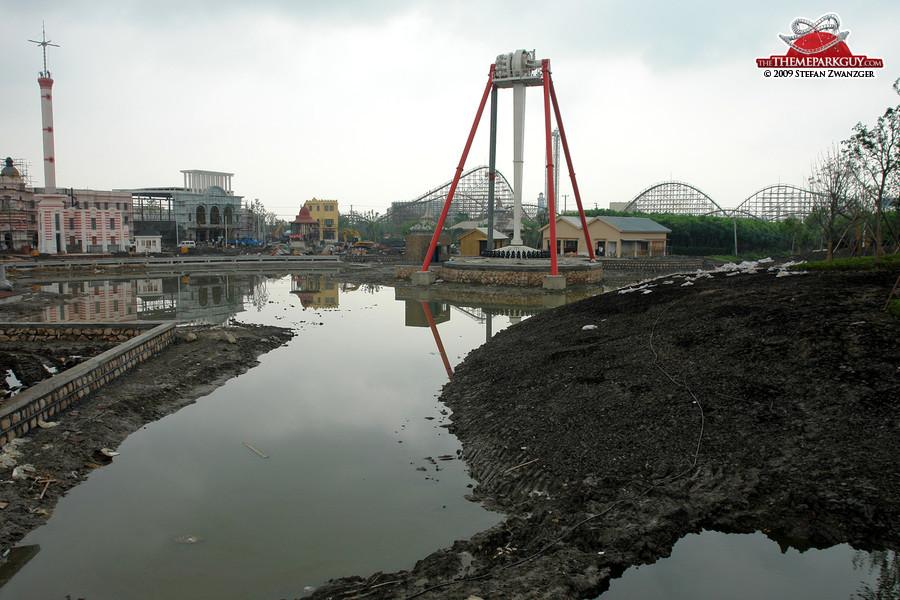 Happy Valley Sheshan under construction
