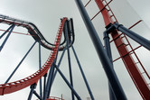 Dive roller coaster at Happy Valley Sheshan