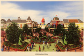 Happyland Main Street: Orthodox church replaces Neuschwanstein castle