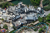 Harry Potter village from above