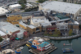 Diagon Alley aerial photo one