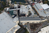 Diagon Alley aerial photo two