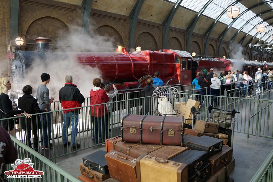 harry potter hogwarts express video