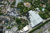 The Wizarding World of Harry Potter from above