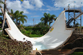 U-shaped slide