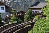 Classic roller coaster