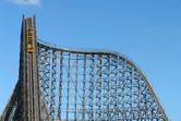 Wooden coaster lift hill