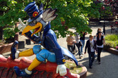 Heidepark mascot