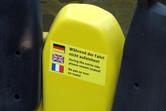 Entrie ride sticker