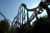 Expedition GeForce roller coaster at Holiday Park