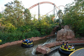 Holiday Park river rapids ride