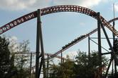 Massive Intamin-manufactured roller coaster