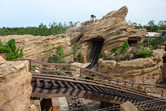 Grizzly Gulch roller coaster