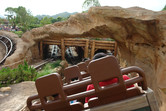 Big Grizzly Mountain Runaway Mine Cars POV