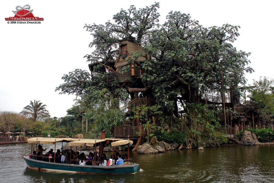 Jungle Cruise meets Tarzan's Tree House