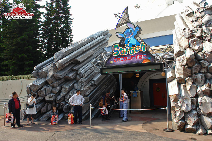 Stitch Encounter entrance