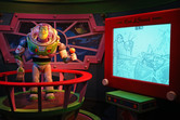 Buzz Lightyear dark ride attraction