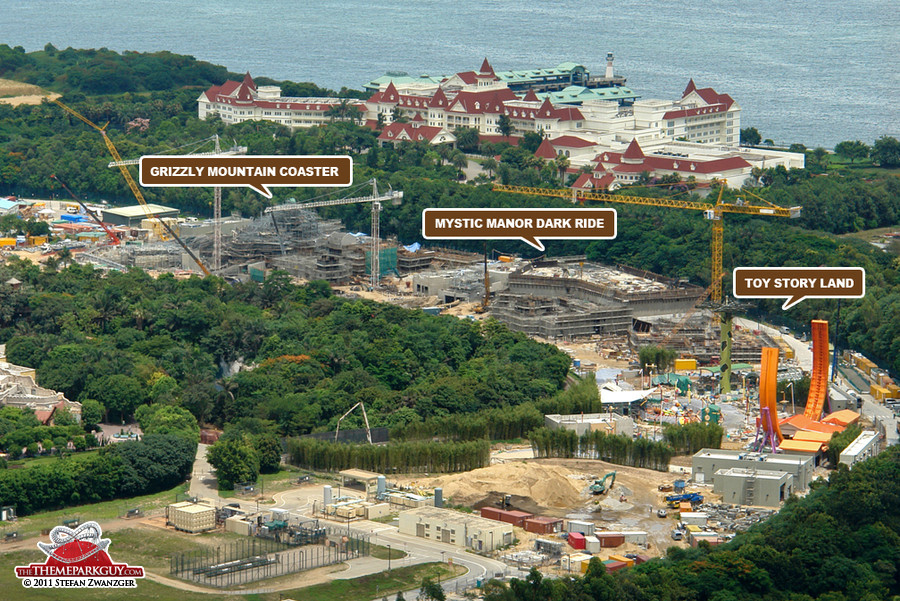Hong Kong Disneyland expansion June 2011