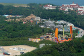 Hong Kong Disneyland expansion aerial
