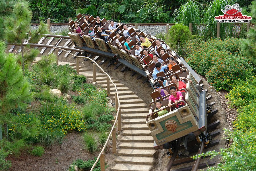 Hong Kong Disneyland's most thrilling attraction!