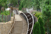 Smooth Grizzly Gulch coaster tracks
