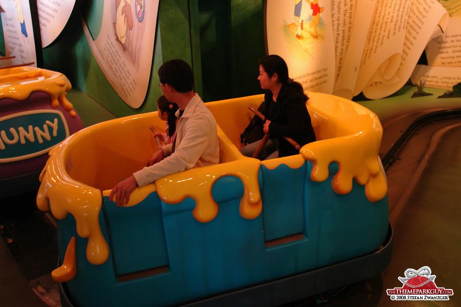 Winnie the Pooh dark ride
