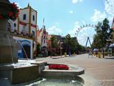 Hopi Hari Main Street. Hello Disneyland.