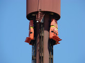 This drop tower has been closed after a tragic accident